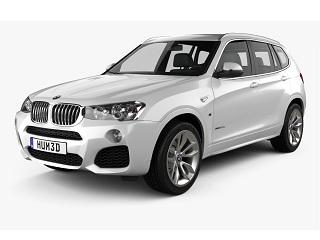 BMW X3 (F25) 10-17